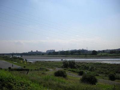 多摩川の景観に感動