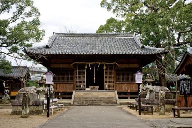 【写真を見る】豊玉姫神社(佐賀県・嬉野市)。主神は竜宮城の乙姫様として有名。2017年1月1日(祝)には甘酒を振る舞う