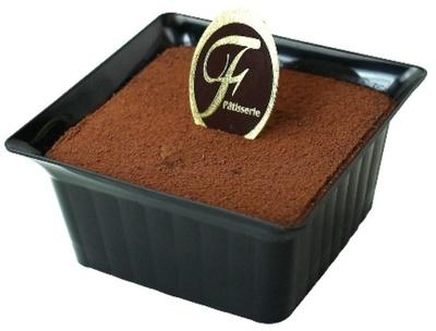 スプーンで味わう濃厚なチョコレートケーキ「ショコラ・テリーヌ」(450円)