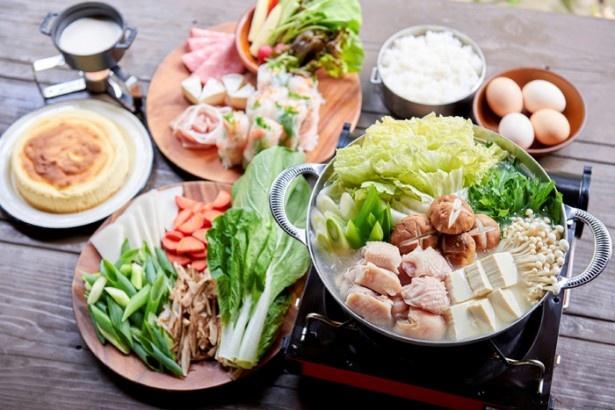 地鶏と京野菜のあったか鍋