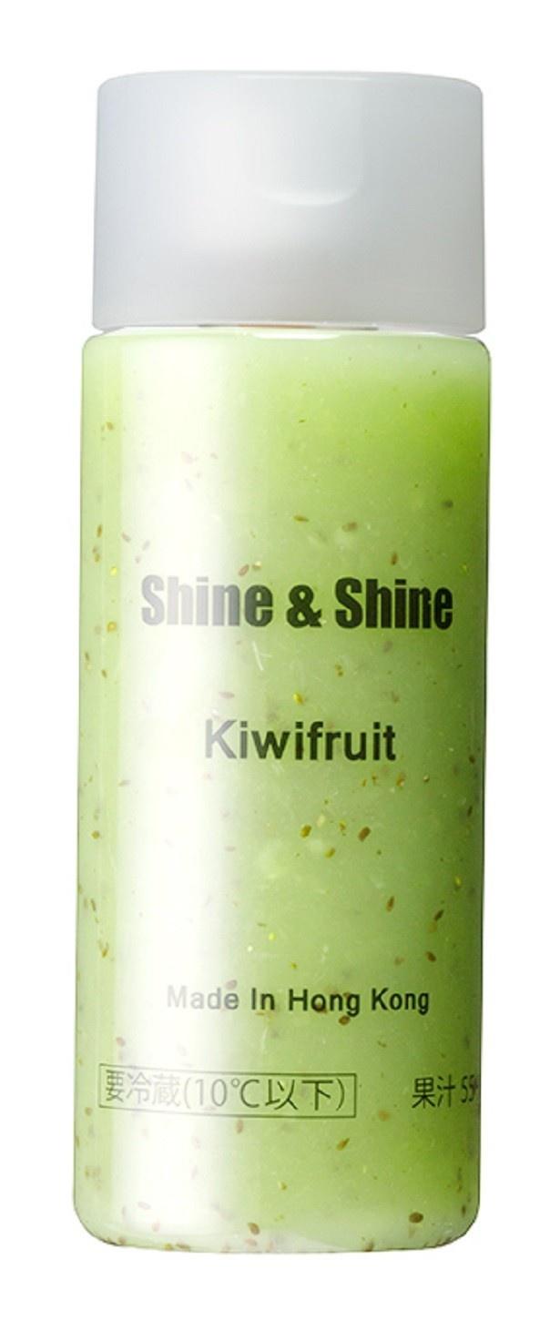キウイフルーツをそのまま搾り、ツブツブ感も感じることができる「Kiwifruit」(398円)