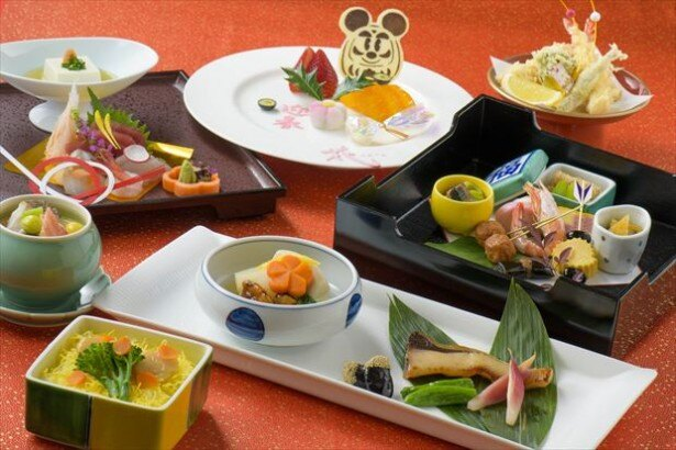 ディズニーアンバサダーホテル「花 Hana」の「正月膳」(6000円)