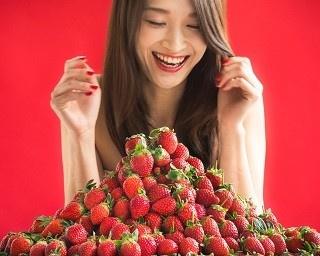いちご尽くしのデザートブッフェ「ストロベリーマニア~苺に恋する午後~」