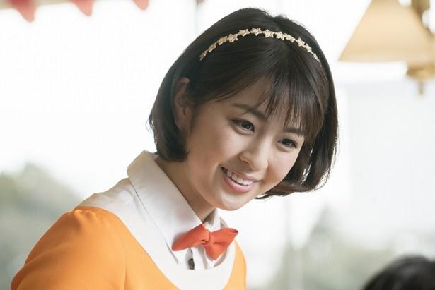 映画『恋妻家宮本』にウェイトレス役で出演している柳ゆり菜