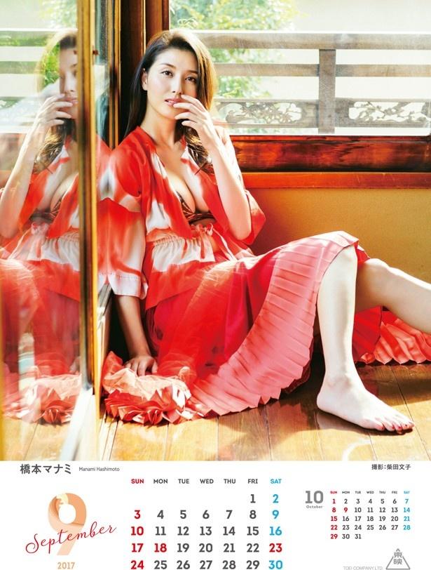 女優業も活発化している橋本マナミはセクシーな衣装!