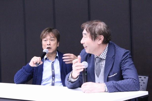 「蛭子さんは僕の発言をまねするから、僕は蛭子さんの後に話します!」とおどける太川