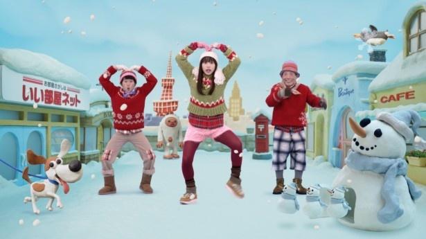 桜井日奈子出演の新CMが12月26日(月)からオンエア