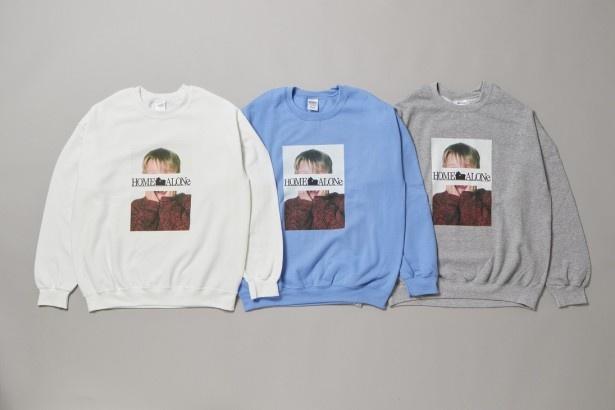 有名なパッケージ写真がコラージュされた「Kevin3 Sweat shirt」(税抜6900円)
