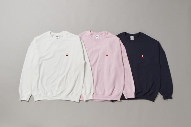 胸のワンポイントケビンが可愛らしい「KevinscreamSweat shirt one point」(税抜6900円)