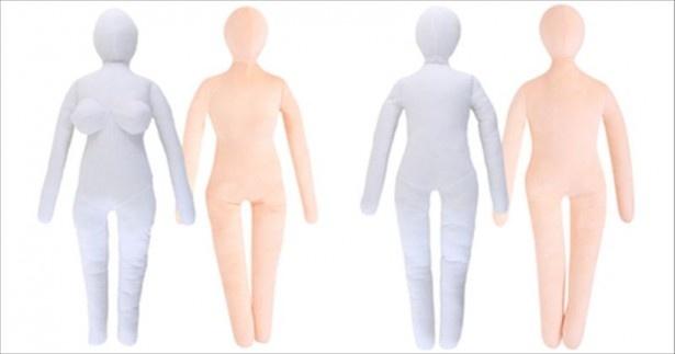 VRの登場に合わせ、改良を施された人型抱き枕「綿嫁」「綿旦那」