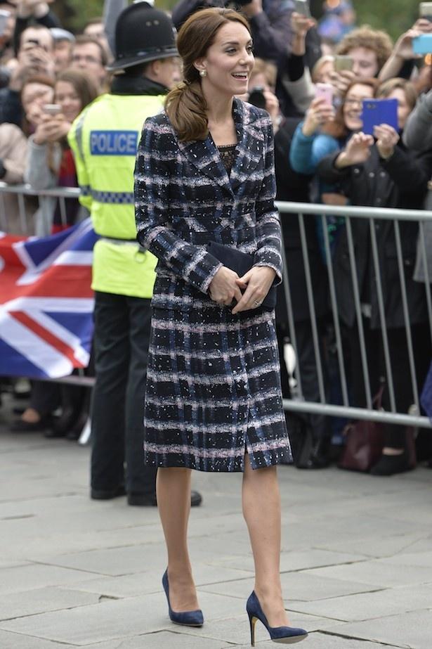 マンチェスターを訪問した際に着ていたコートも注目を浴びた