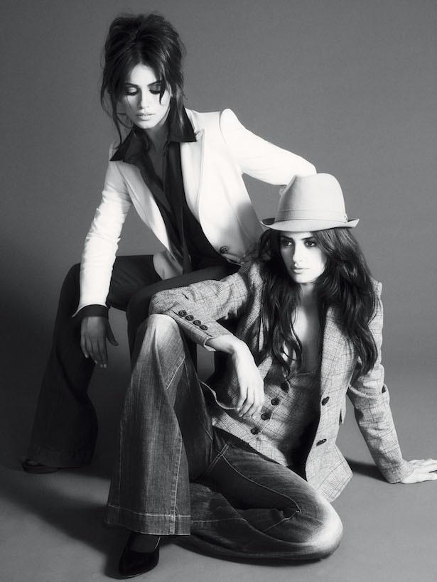 姉妹でファッションブランドの広告塔を務めた際の一枚