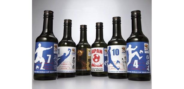 FIFA公認の17種類の日本酒が10/16(金)、世界同時発売される。種類は、清酒13種、本格焼酎2種、和リキュール2種の計17種