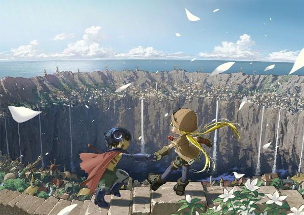 テレビアニメ「メイドインアビス」のアニメビジュアル