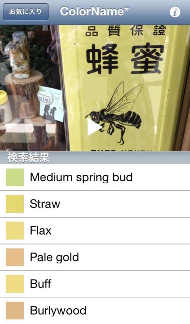 蜂蜜なのに、蜂蜜色じゃなくレモン色に近い色なのが可笑しくて…