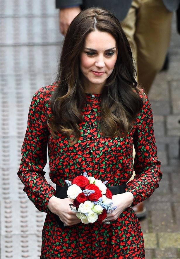 キャサリン妃はクリスマスカラーのファッションも酷評されてしまった