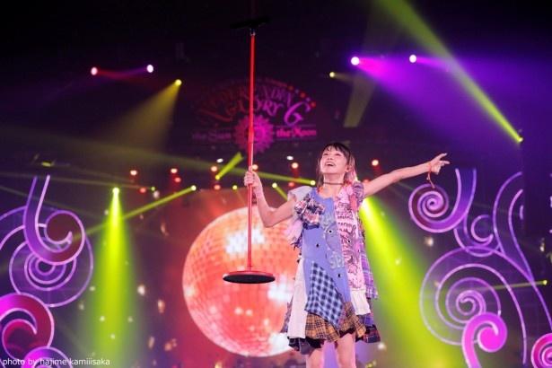 11月26日開催の「LiSA LiVE is Smile Always~NEVER ENDiNG GLORY~ 『the Sun』」の模様