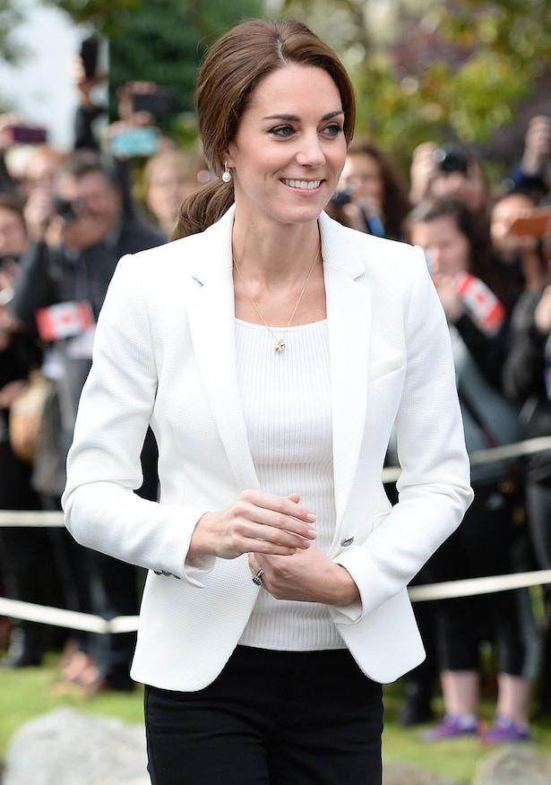 ファストファッションも華麗に着こなすキャサリン妃