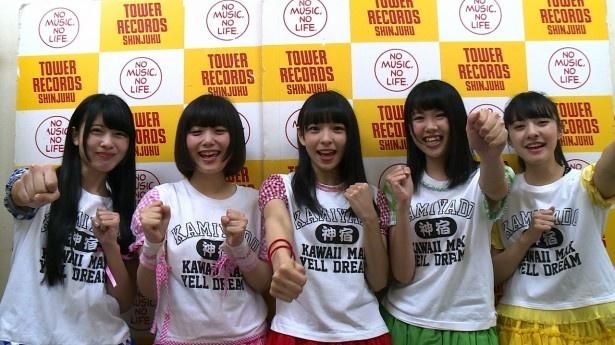 【写真を見る】ZeppDCT公演直前の神宿が意気込みを語る!