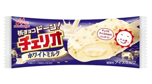 森永「チェリオ」の期間限定フレーバー「チェリオ ホワイトミルク(1本入り)」(希望小売価格・税抜130円)は1月9日(月)から発売
