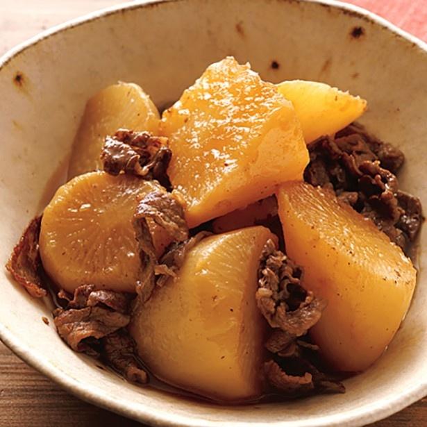 2016年「大根レシピ」ランキング。第3位「牛肉と大根の甘辛煮」