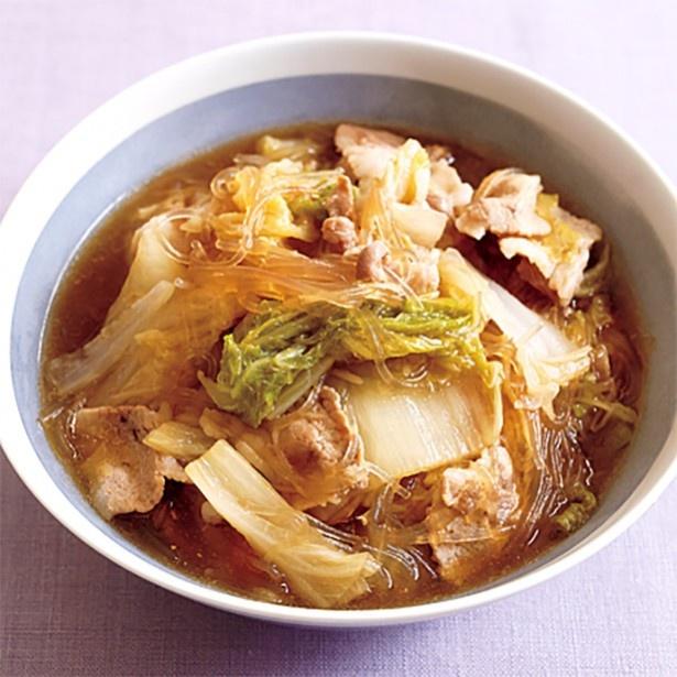 第1位「豚肉と白菜のはるさめ煮」