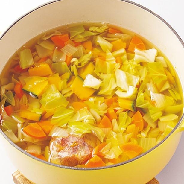 ハーバード大学式野菜スープ