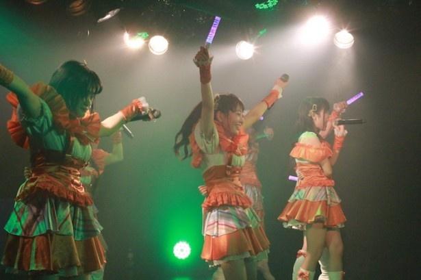 '17年1月9日(月)には東京・渋谷WWW Xで「イケてるハーツ 1stワンマンライブ~Heart Warming Night」を開催