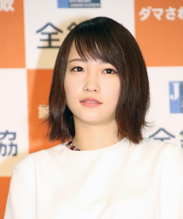 NHK紅白歌合戦について「投票で選抜が決まるので、ぜひ(卒業となる)ぱるる(島崎遥香)さんに出てほしいなって思います」と川栄