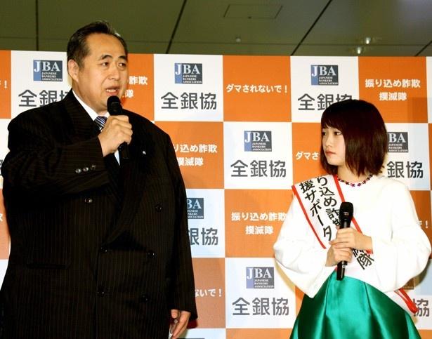 芝田山親方は、川栄とのイベントについて「部屋の若い衆にうらやましがられた」と明かす