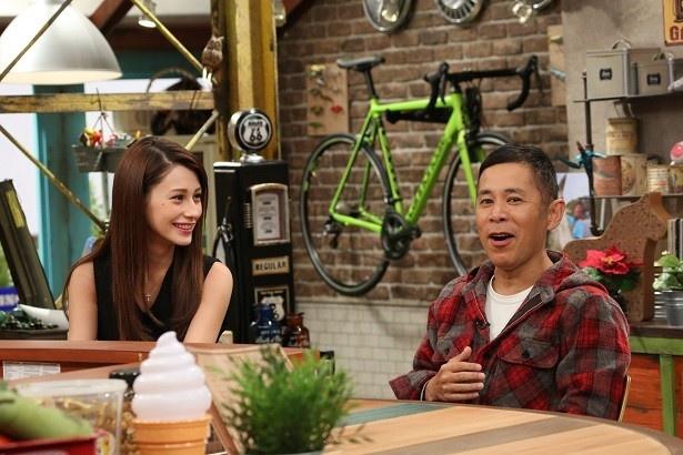 12月24日放送の「おかべろ」にダレノガレ明美がゲスト出演