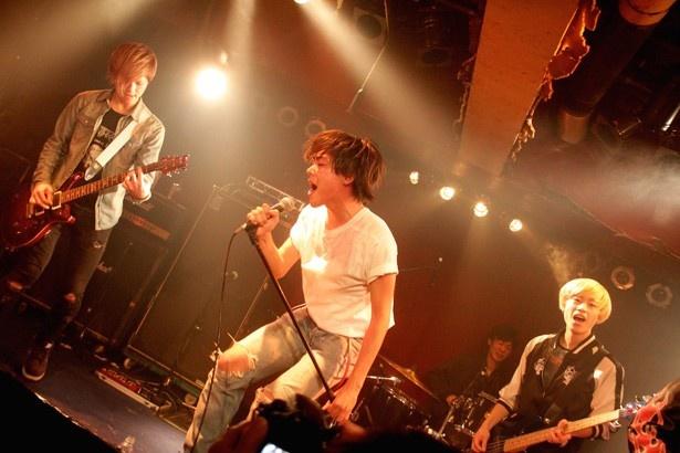 【写真を見る】劇中バンド「YAT and the Sun.」が一夜限りのライブを行った