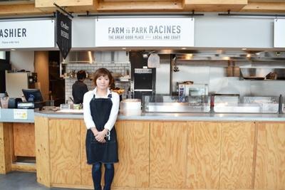 店長の柳岡さんは「池袋に住むクリエイターの人たちが、街の人のニーズに合わせ新たなものを生み出しているのが面白い」と街の魅力を語る(Racines FARM to PARK)