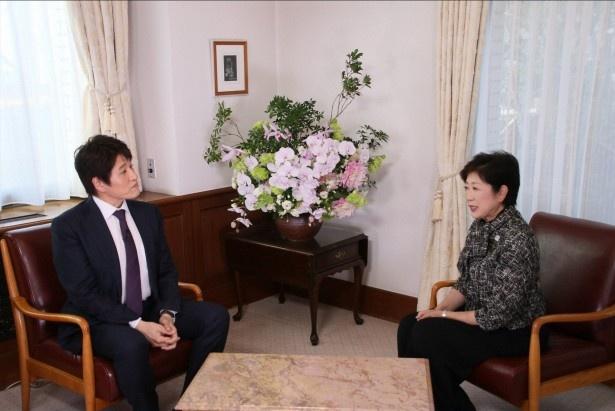 12月25日放送の「林先生が驚く初耳学!SP」で林修が小池百合子都知事と対談!