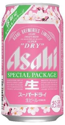 【写真を見る】春限定となる30周年「アサヒスーパードライ」の桜パッケージ缶