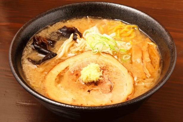 「エゾ麺☆ロック」のみそラーメン(800円)
