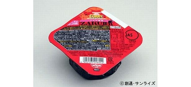 赤いカレーヌードルリフィル(122円)は単体での販売も