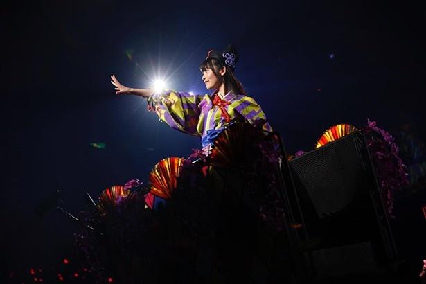 上坂すみれ、両国国技館で熱唱!笑顔の全部入りソロライブ「上坂すみれのひとり相撲 2016~サイケデリック巡業~」開催