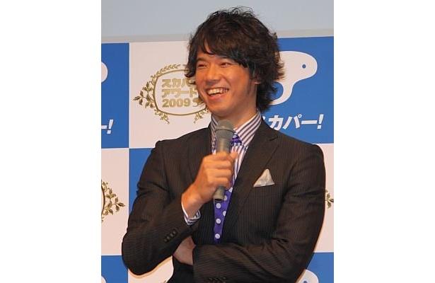 庄司さんは愛妻・ミキティに話が及び、この笑顔