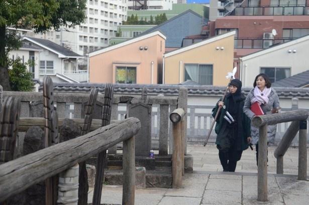 本所から泉岳寺までの引き揚げルートを巡る菊川と上遠野