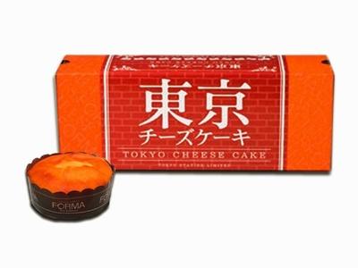 5位はチーズケーキ専門店、フォルマの「東京駅限定チーズケーキ」(5個入1080円、10個入2160円、15個入3240円)。クリームチーズの優しい風味が絶品!