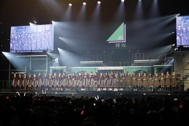 欅坂46&けやき坂46の全メンバー32名がずらり!