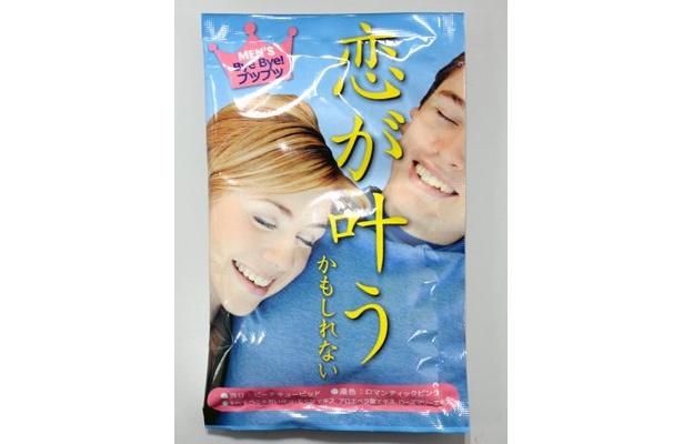 「モテ風呂 恋が叶うかもれない」は、ピーチキュービッドの香りで、すべすべうるおい成分配合