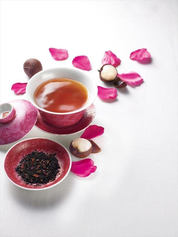 「華実プーアール茶」(1080円)が数量限定で復刻発売する