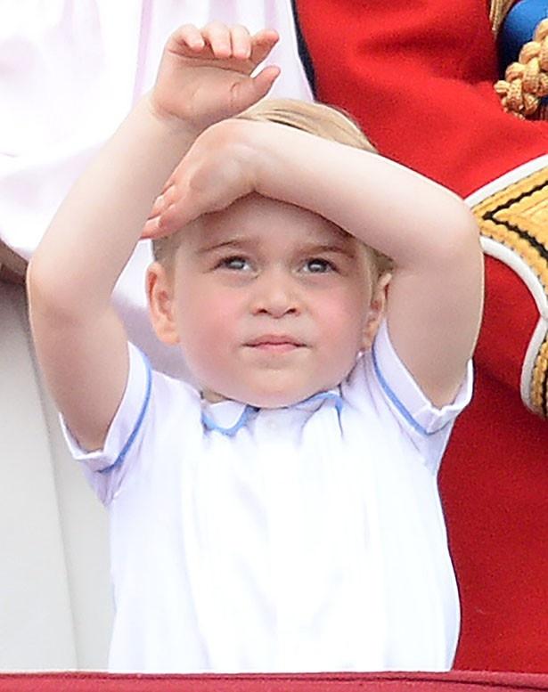 ジョージ王子はその愛らしい姿がファンの心をつかんで離さない