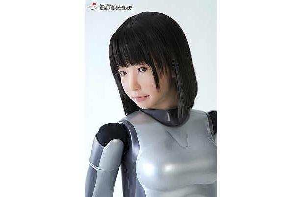 かれんな横顔が美しい!美少女ロボットHRP-4C