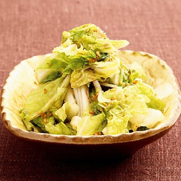 白菜人気レシピ2位は、5分・2ステップでできる超スピーディーな「白菜のおかかポン酢あえ」