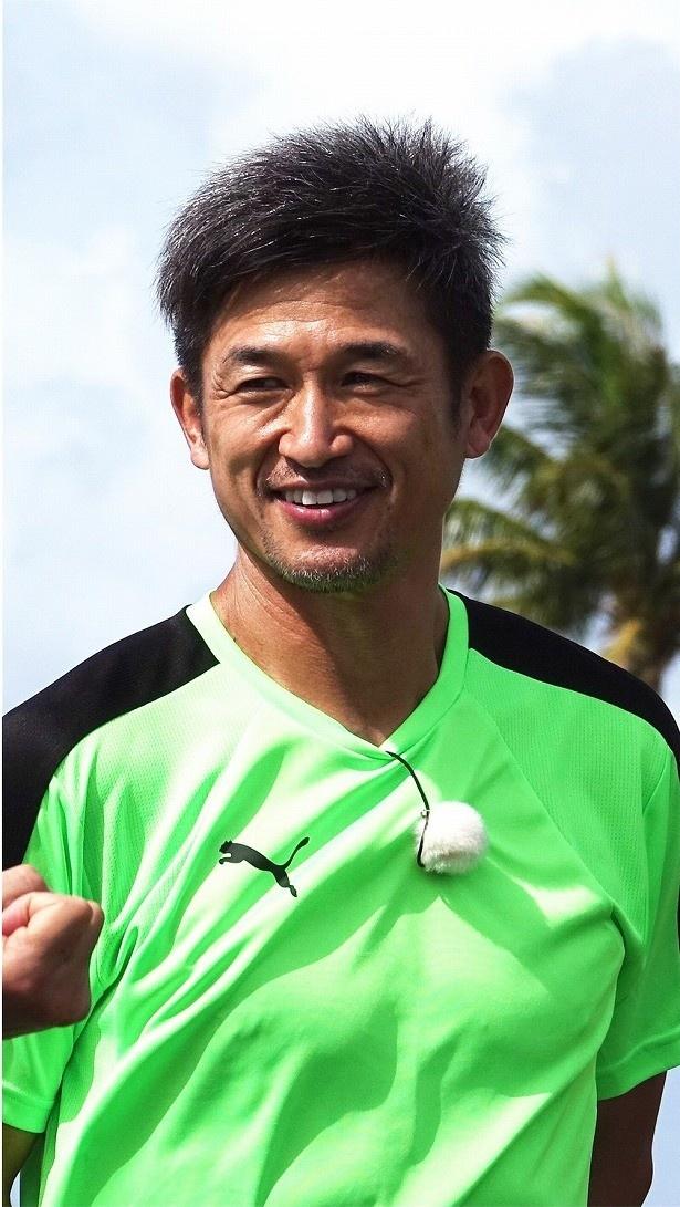 50歳のシーズンを迎える三浦選手に、中山選手は「カズさんの精神力、上を目指しているという気持ちがすごいなと思います」と称賛
