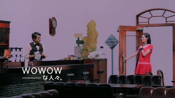 吉田羊と小松菜奈が起用された、WOWOWの新TV-CM「全豪テニス」篇が完成