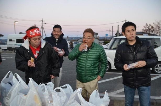 メンバーが熊本グルメをどんどん食べて遊ぶロケを敢行!